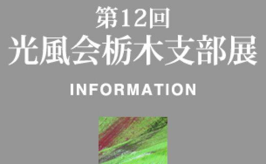 第12回光風会栃木支部展